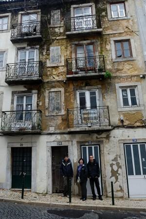 Primer paseo. Lisboa (diciembre 2009)