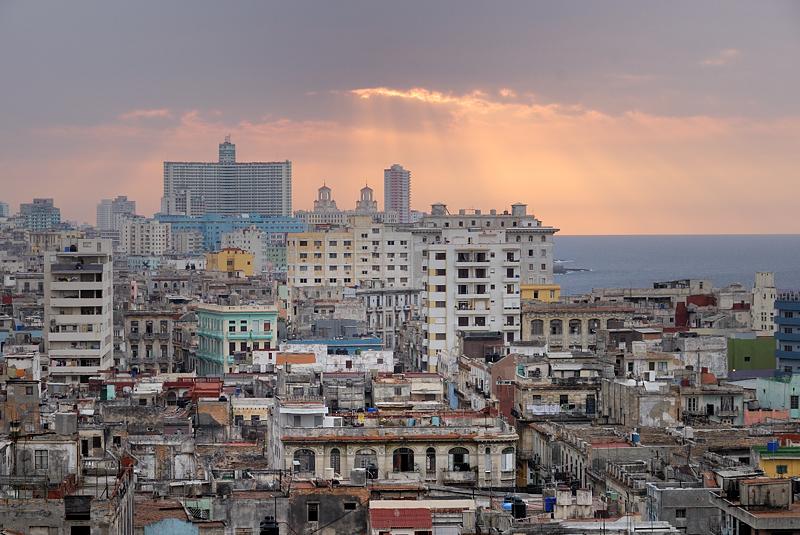 Atardecer en La Habana (abril 2010)