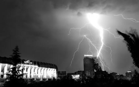 Tormenta sobre Madrid. (junio 2010)