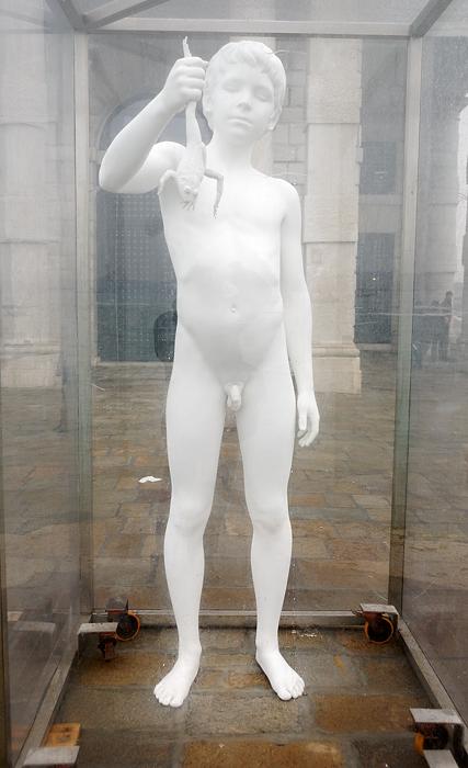 El niño pálido. Venecia enero 2011