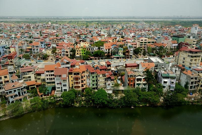 Vista de Hanoi, abril 2011