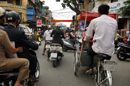 Cyclo!! Hanoi abril 2011