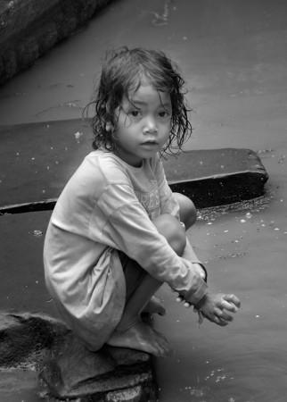 Niña. Siem Reap abril 2011