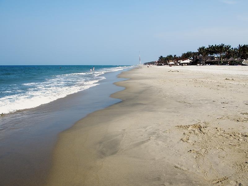 Playa de Hoi An, Mar de China abril 2011