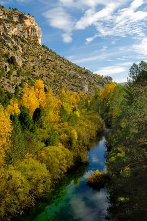Rio Tajo por Peralejos de las Truchas, octubre 2012