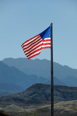 Bandera, Furnace Creek, Death Valley junio 2012