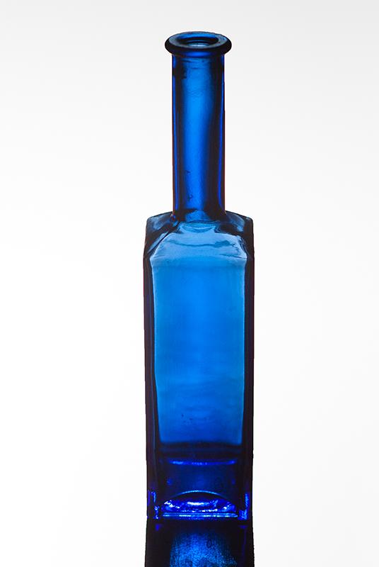 Una botella azul, dicembre 2013