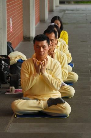 Falun Gong. Taiwan febrero 2014