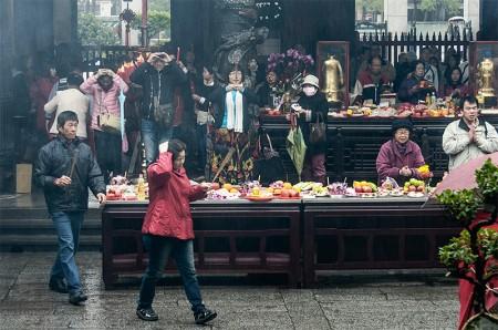 Longshan temple, Taipéi febrero 2014