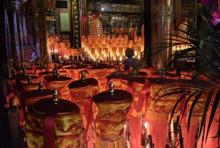 Rezo, Qingshui Temple. Taipéi febrero 2014