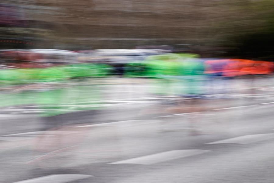 'Running' en La Castellana, marzo 2015