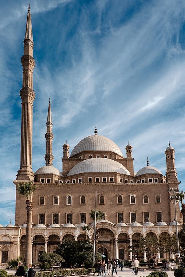 El Cairo, mezquita de alabastro, enero 2015
