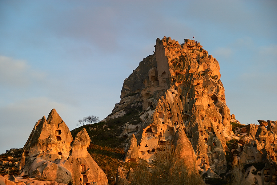 Castillo de Uchisar, marzo 2013