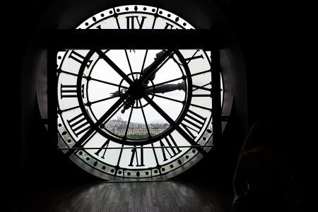 Reloj de Orsay. mayo 2015