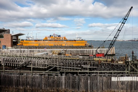 Staten Island Ferry,  octubre 2015