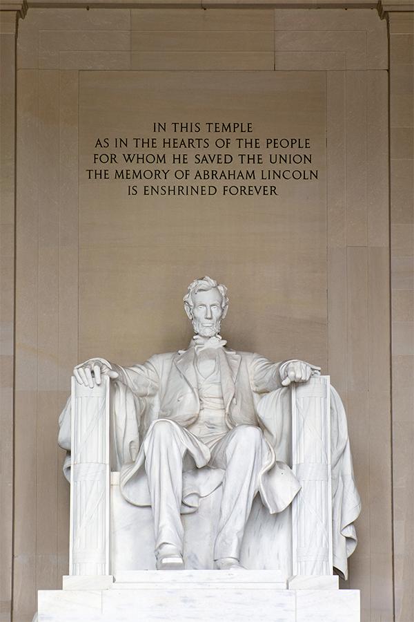 Abraham Lincoln, Washignton octubre 2015