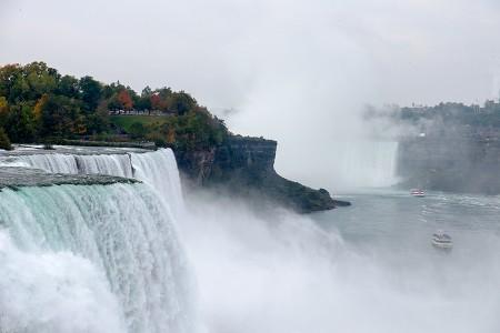 Cataratas del Niagara, octubre 2015
