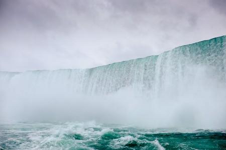 Desde abajo, Niagara, octubre 2015