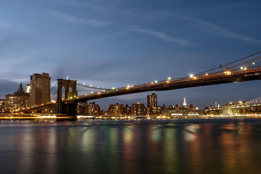 Puente de Brooklyn, octubre 2015