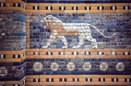 Puerta de Istar, Babilonia. Berlín 1999
