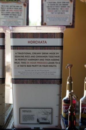 Horchata ¿de chufa?, Cedar City junio 2016