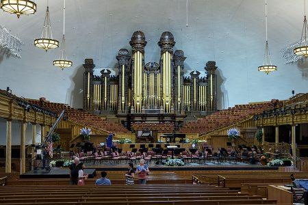 Organo del Tabernáculo, SLC, junio 2016