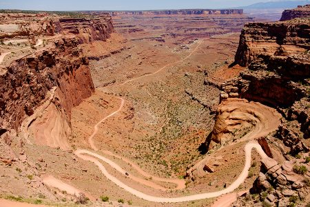 Shafer Canyon, Canyonlands, junio 2016