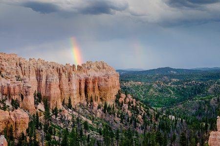 Arco iris, Bryce Canyon, junio 2016