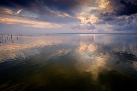 Puesta de sol I. L'Albufera septiembre 2016