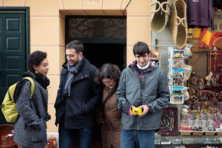 Posado ejemplar, Segovia diciembre 2016