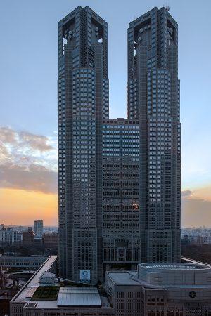 Torres del ayuntamiento, Tokio marzo 2017