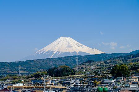 Monte Fuji desde el tren, abril 2017