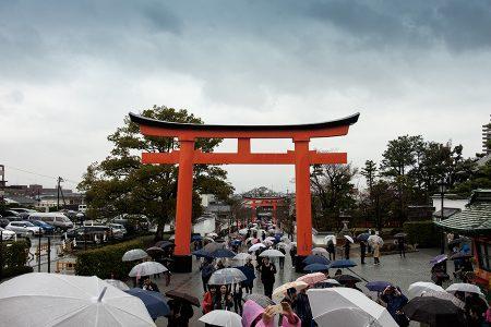 Fushimi Inari, Kioto abril 2017