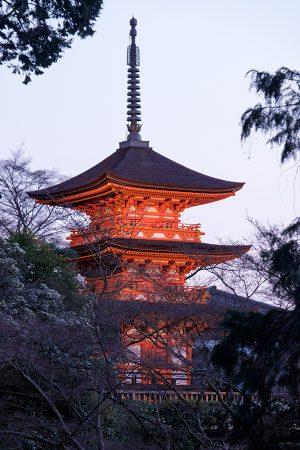 Pagoda Koyasu, Kioto abril 2017