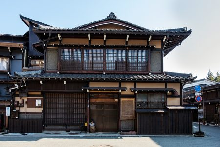 Arquitectura tradicional, Takayama, abril 2017