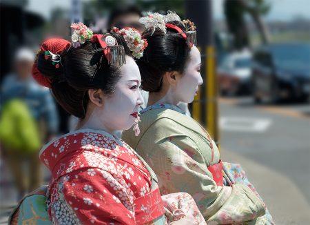 Geishas, Arashiyama abril 2017