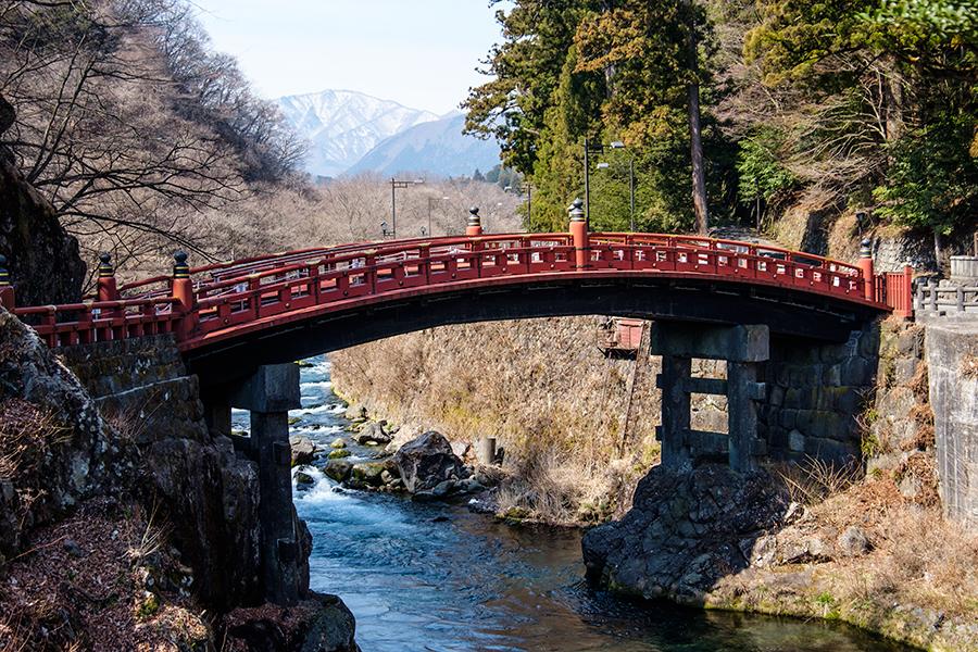 Puente Shinkyo, Nikko, abril 2017