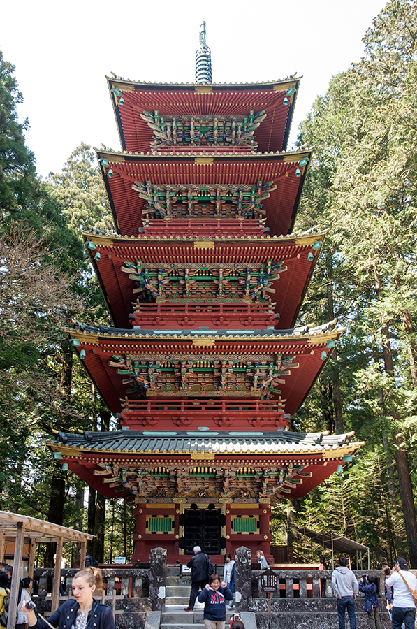 Pagoda Toshogu Nikko abril 2017
