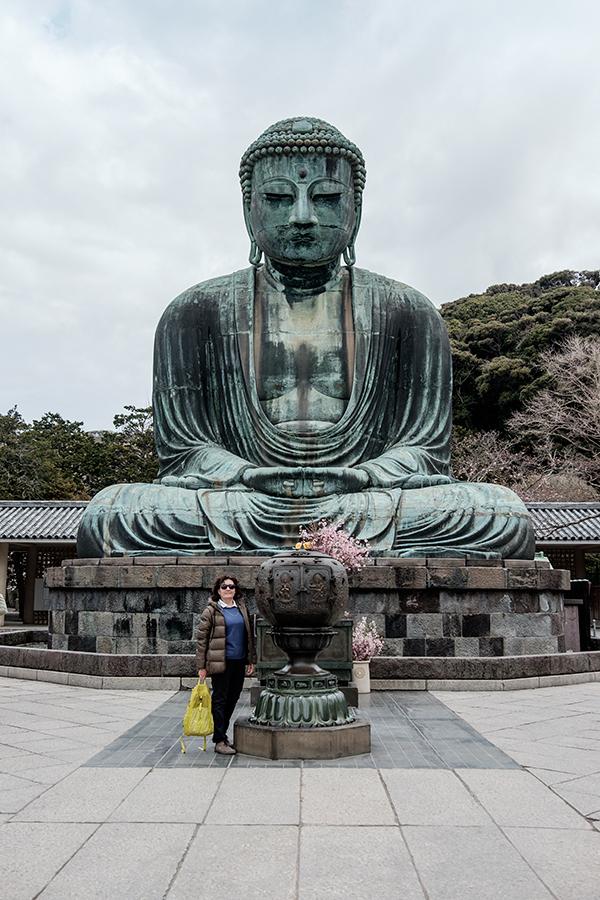 Gran Buda Kamakura abril 2017