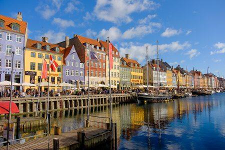 Nyhavn Copenhague octubre 2017