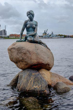 Sirenita, Copenhague, octubre 2017