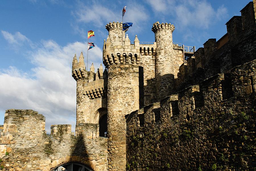 Castillo de Ponferrada, marzo 2018