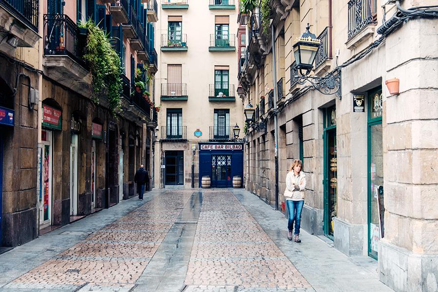 Casco viejo Bilbao mayo 2018