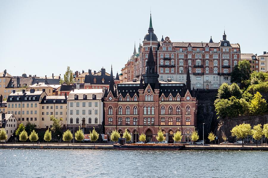 Maria hissen, Estocolmo, julio 2018