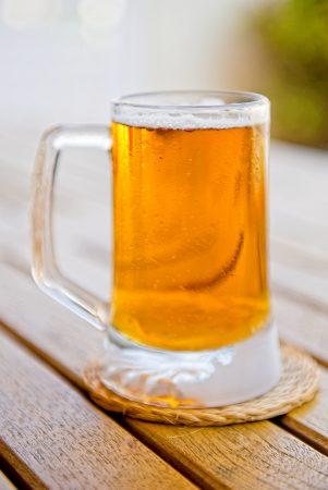 Cerveza, fria. Agosto 2018