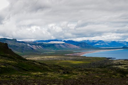 Vista desde F570, Islandia agosto 2018