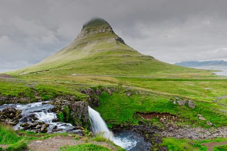 Kirkjufell, Islandia agosto 2018