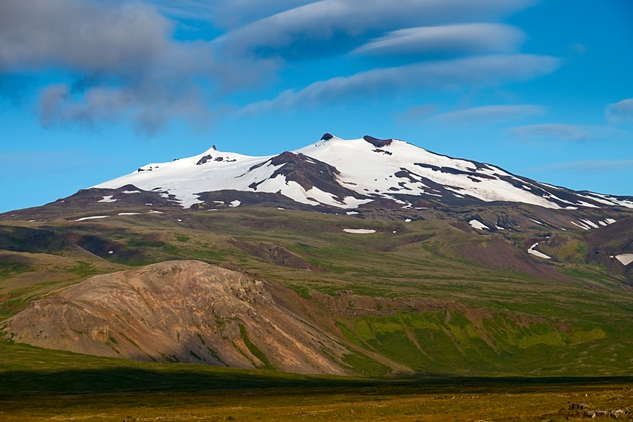 Snæfellsjökull, agosto 2018