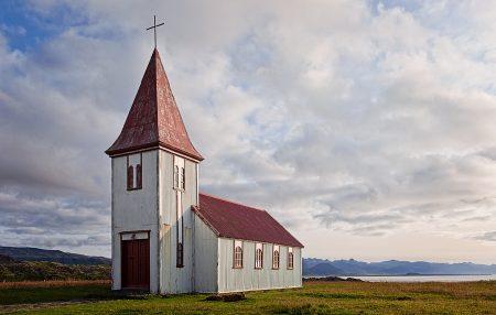 Iglesia de Hellnar. Islandia agosto 2018
