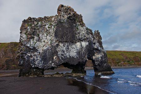 Hvítserkur. Islandia agosto 2018